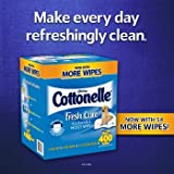 Cottonelle Fresh Care Flushable Cleansing Cloths, 400 Cloths
