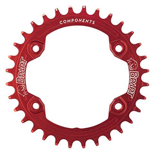 BPart 96 BCD Shimano XTR M9000 Y M9020 Maschenweite Kette rot, Größe 32