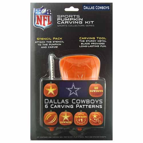 Amazon.com: DALLAS COWBOYS Complete Halloween PUMPKIN CARVING KIT