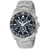 Citizen BL5440-58E Men's Perpetual Calendar Eco-Drive Chrono Watch