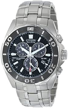 Citizen BL5440-58E Men's Calendar Eco-Drive Chrono Watch