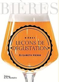 Bières, leçons de dégustation par Élisabeth Pierre