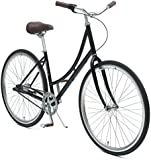 Critical Cycles Dutch Step-Thru 3-Speed City Coaster Commuter Bicycle, 44cm/One Size