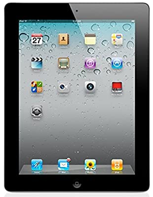 Apple iPad 2 MC769LL/A Tablet (9.7-Inch, iOS 7,16GB, WiFi) Black 2nd Generation (Certified Refurbished)
