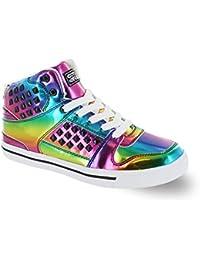 Gotta Flurt Hip Hop HD II Lace Up 3 4 Top High Top Sneaker
