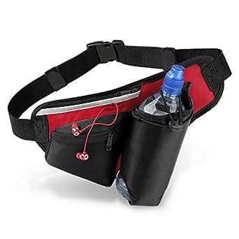 Teamwear Hydro Belt Bag, BLACK/RED