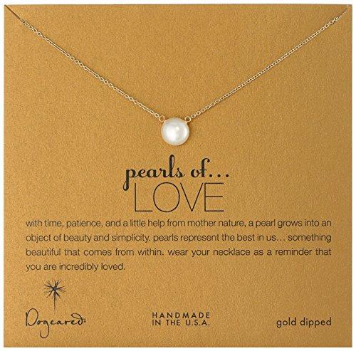 大热款,Dogeared Pearls of Love 珍珠锁骨项链图片