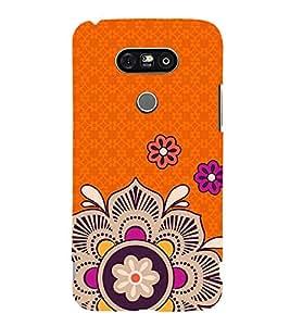 Rangoli Pattern 3D Hard Polycarbonate Designer Back Case Cover for LG G5 :: LG G5 H850 H820 VS987 LS992 H860N US992