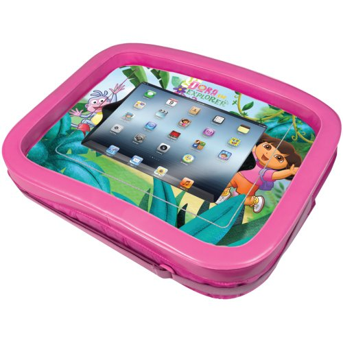 1 - Universal Ipad(R) Dora The Explorer(R) Activity Tray, Fits All Ipad(R) Devices, Easily Attaches To Most Strollers, Car Seats Or High Chairs, Nic-Dit front-344569