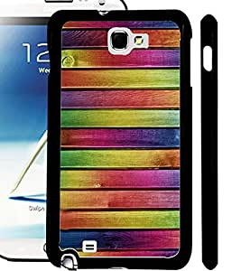 ColourCraft Colourful Bars Design Back Case Cover for SAMSUNG GALAXY NOTE 2 N7100