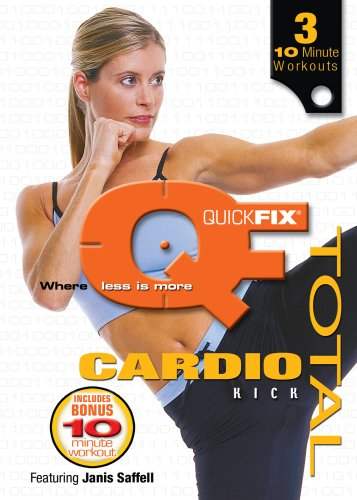 Quick Fix: Total Cardio Kick [DVD] [Import] - Quickfix