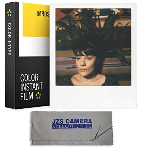 Impossible I-1 Type Instant Color Film for I-1 Instant Camera + Lens Cloth (I Type compare prices)