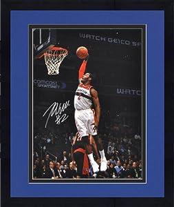 Framed NBA Washington Wizards John Wall Autographed 16