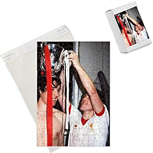 Photo Jigsaw Puzzle Of Alan Hansen And Kenny Dalglish Liverpool 19791980 From Fotosports from Media Storehouse