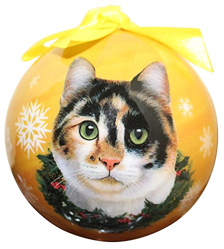 Calico Cat Christmas Tree Ornament