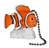 Disney FINDING NEMO clown fish Ceiling FAN PULL light chain
