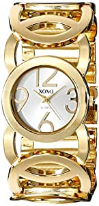 XOXO Women's XO5211 Gold-Tone Watch with Link Bracelet