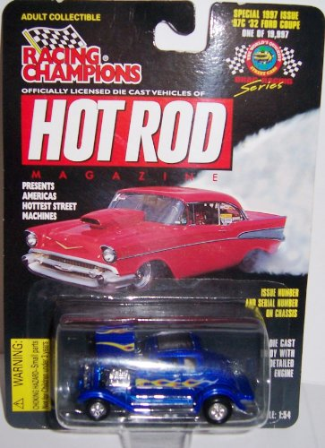 Racing Champions Hot Rod Magazine #97c '32 Ford Coupe Scale 1:54 - 1