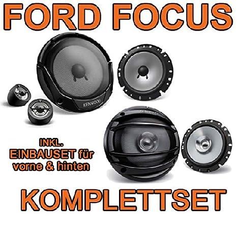 KENWOOD-ford focus mK1 complet pour haut-parleur avant &à l'arrière