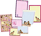 Briefpapierset Pferdefreunde Fächermappe mit 18 bunt betruckten Briefbögen in 3 Motiven