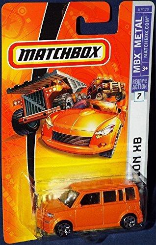 scion-xb-2007-matchbox-7-scion-xb-orange-164-scale-collectible-die-cast-car-by-matchbox