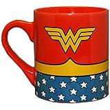 Wonder Woman Uniform Costume Ceramic Coffee Mug 14 oz.