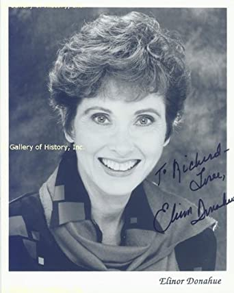 ELINOR DONAHUE - INSCRIBED PHOTOGRAPH SIGNED at Amazon's Entertainment