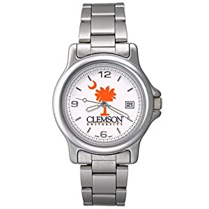 NSNSW22944Q-Varsity Mens Clemson University Watch by NCAA Officially Licensed