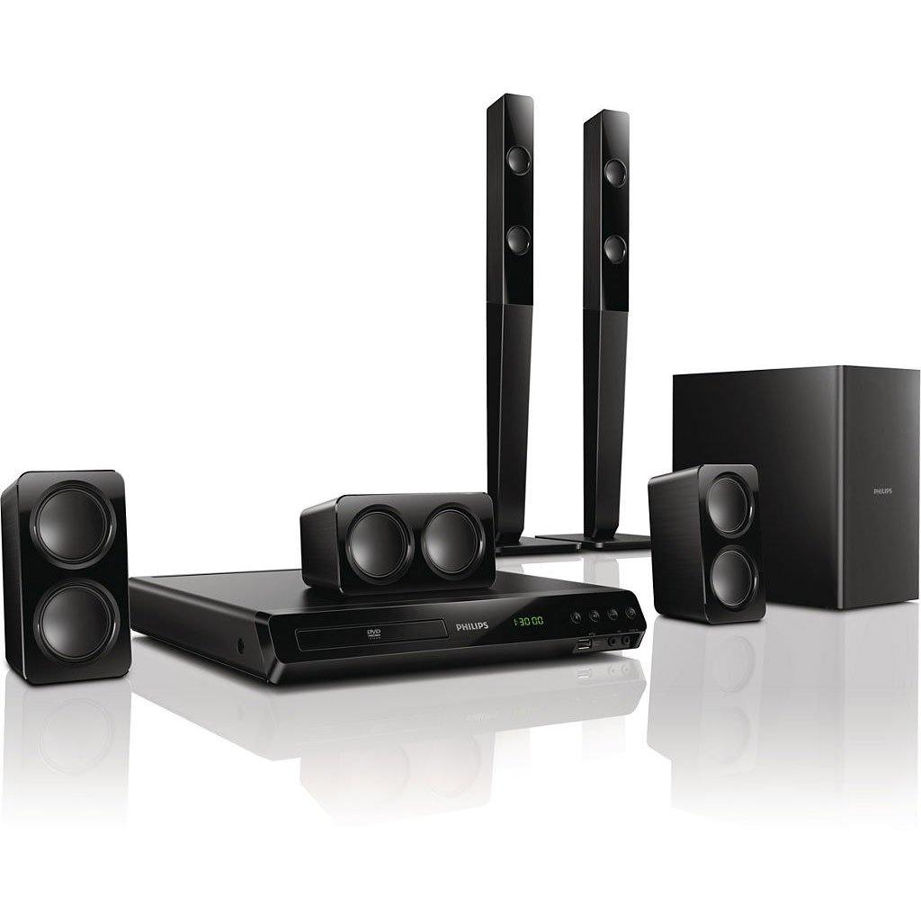 philips htd3540 12 home cin ma 5 1 avec lecteur dvd 2. Black Bedroom Furniture Sets. Home Design Ideas