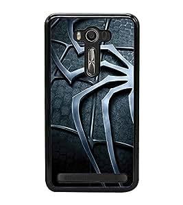Fuson Premium 2D Back Case Cover Spider With Multi Background Degined For Asus Zenfone 2 Laser ZE500KL::Asus Zenfone 2 Laser ZE500KL (5 Inches)