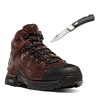 Danner 37510 453 Men's Outdoor Hiking Boot Brown - With Free Pocket Knife (10)