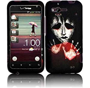 HTC Rhyme 6330 Phone Case Accessory Dangerous Zombie Hard Snap On Cover with Free Gift Aplus Pouch