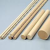 米ヒバ 丸棒材 C 5本組 直径20×600mm