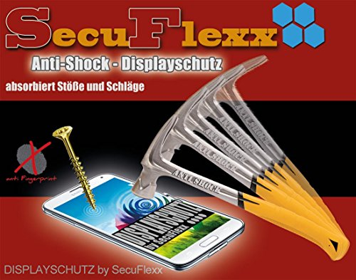2+1 Anti- Shock KRISTALLKLAR Displayschutzfolie