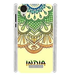 India Ethinic Culture Soft Silicon Rubberized Back Case Cover for Lava Iris X9 :: Lava Iris X9 4G