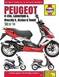 Haynes Manual for Peugeot V-Clic, Speedfight 3, Vivacity 3, Kisbee & Tweet (08 to 14) Including an AA Microfibre Magic Mitt