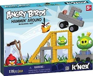 K'NexAngryBirdsHamminAround- Juego de destrucción con Angry Birds
