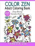 Color Zen Adult Coloring Book 2: Easy Breezy Garden Patterns (Color Zen Adult Coloring Books) (Volume 2)