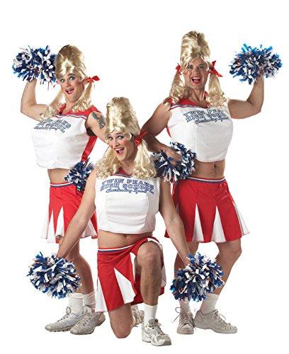 Varsity Cheerleader Adult Costume (Hilarious Halloween Costumes For Couples)