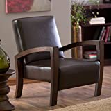 Rest Easy in This Beautifuly Crafted Espresso Brown Leather Artisan Classic Mission Style Chair Seat. Sale Price, BUY Yours Today!