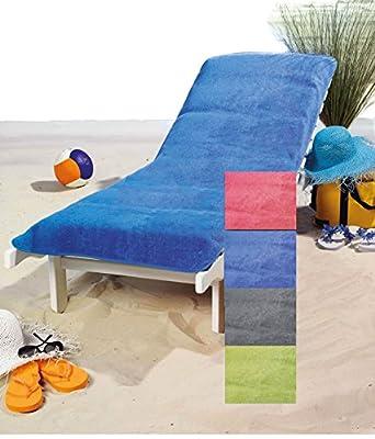 Schonbezug für Gartenliege, Strandliegenauflage, Frottee Schonbezug, 100% Baumwolle - 75x200 cm - Brandsseller von Brandsseller auf Gartenmöbel von Du und Dein Garten