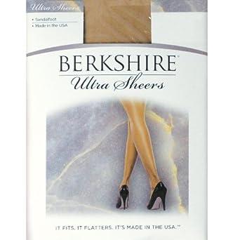 Berkshire Ultra Sheer Pantyhose - Non Control Top - Sandalfoot, Nu Grey, 1