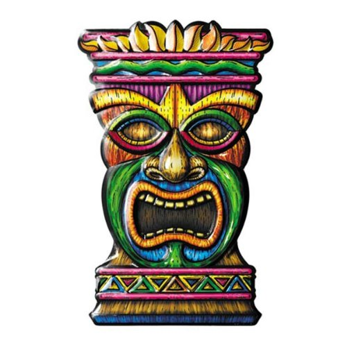 Tiki 3-D Art-Form Party Accessory (1 count) - 1