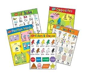 "Eureka Dr. Seuss Beginning Concepts Bulletin Board Set, 5 Panels 17 x 24"" Each by Paper Magic Group"