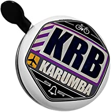 Bicycle Bell Airportcode KRB Karumba by NEONBLOND
