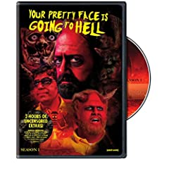 Your Pretty Face is Going to Hell Season 1 comes out on DVD July 14th from Adult Swim and Warner Bros