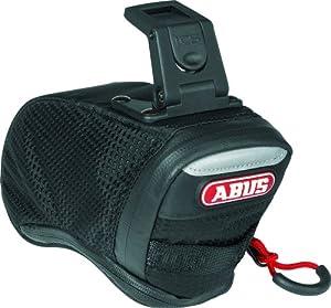 ABUS Fahrradtasche Onyx ST 85 ICS, schwarz, 15 x 7 x 9 cm