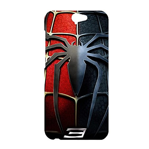 HTC ONE A9 Case Cover,Classical Spider Logo Design 3D Comic Spiderman Phone Case Cover for HTC ONE A9 Hot Superhero