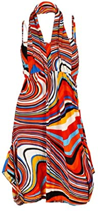 NY Deal Women's Two Pieces Halter Dress
