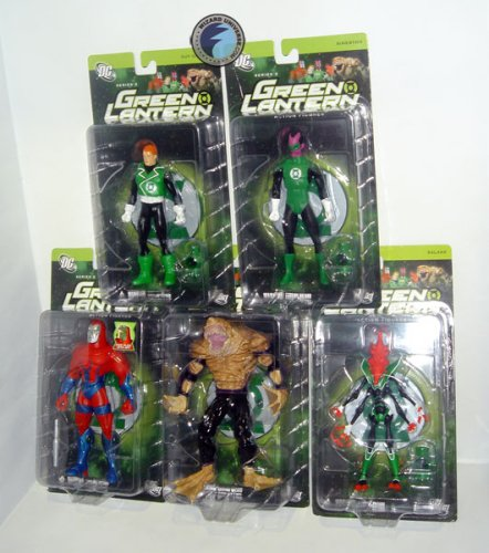 Picture of DC Direct Green Lantern 2: Action Figure Set of 5 (B000NDN2NG) (Green Lantern Action Figures)